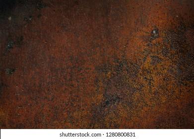 Grunge metal rust background