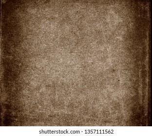 Grunge old paper background, brown obsolete texture