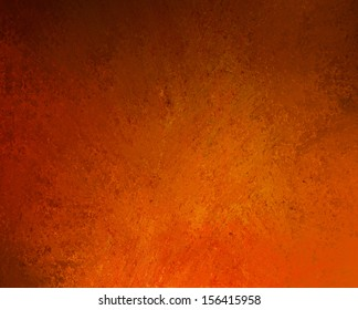 grunge orange background with spotlight