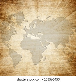 Antique world maps stock images royalty free images vectors grunge paper with map background gumiabroncs Gallery