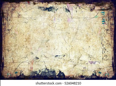 Grunge paper wall texture