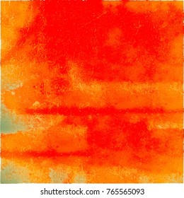 Grunge red, yellow. Abstract colored texture for print