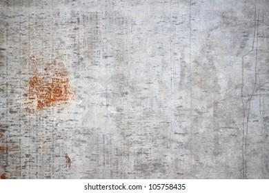 Grunge rusty corrugated iron metal sheet