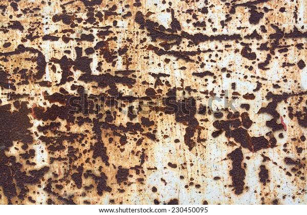 Grunge rusty metal steel background