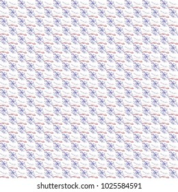Grunge seamless abstract colorful square texture on white background. Arranged in a staggered manner two small broken fractal patterns. Rough noise design image.