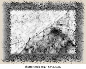 Grunge surface black white