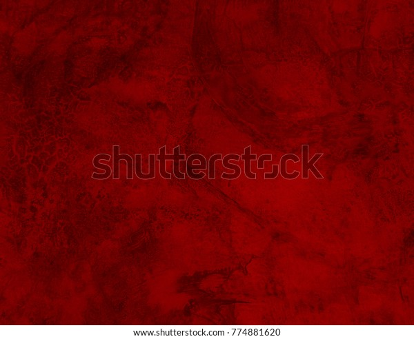 Grunge Texture Background Wall Red Tone Stock Photo (Edit Now ...