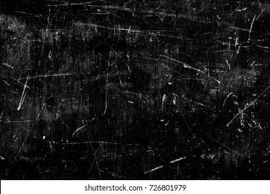 Grunge Textur, schwarz gekratzter Hintergrund