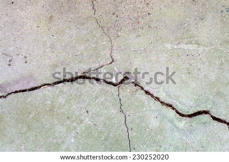 grunge texture of cracked ground surface