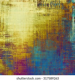 Grunge texture. With different color patterns: yellow (beige); brown; blue; purple (violet)