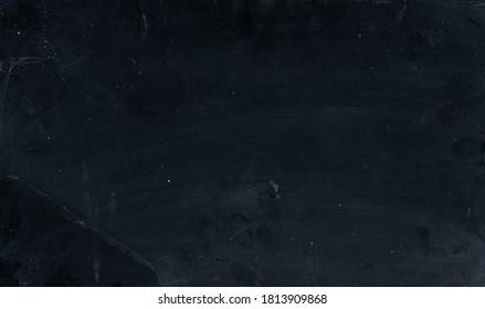 Grunge texture overlay. Fractured glass. Dark dirty screen with dust scratches fingerprints.