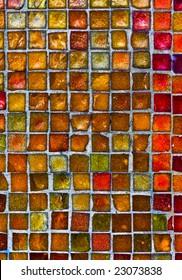grunge tile mosaic pattern texture