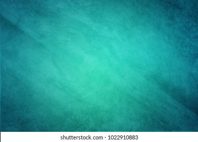 grunge turquoise color ,vintage abstract background
