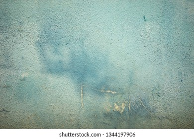 Grunge turquoise wall