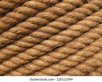 grunge twisted rope texture tie up the pole