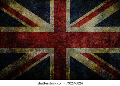 Grunge UK Flag background
