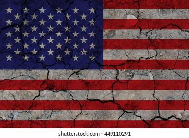 Grunge USA Flag, American flag