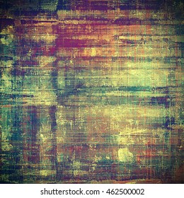 Grunge vintage template or antique background with different color patterns: yellow (beige); brown; green; blue; purple (violet); pink