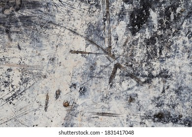 Grunge White Abstract Mineral Texture IV