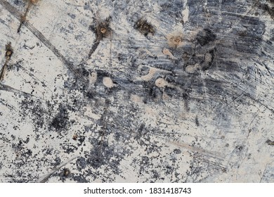 Grunge White Abstract Mineral Texture III