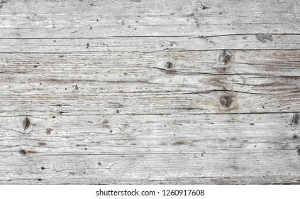 Grunge white urban wooden background. Easy to create abstract scratched, vintage effect with dirt and grain. Aging design element for your creative works.