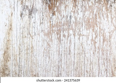 Grunge white wood, can be used as background.