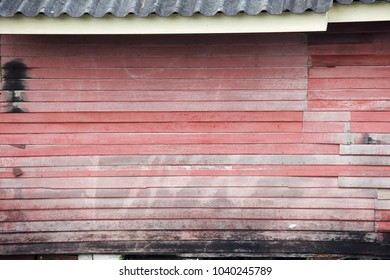 grunge wooden panel house wall background