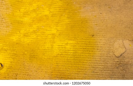 Grunge Yellow Carboard Texture