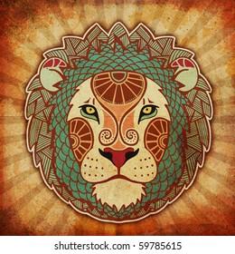grunge zodiac - leo