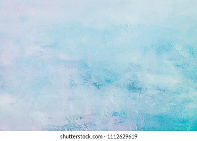 grungy blue painting background