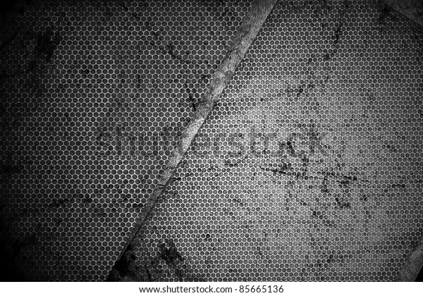 Grungy Corroded Metal Texture-Background.