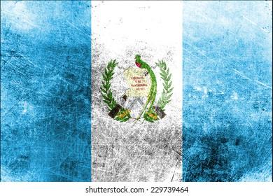 Grungy Flag of Equatorial Guinea