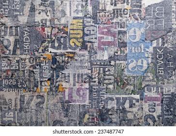 Grungy Newspaper Texture