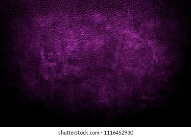 grungy purple leather background or texture