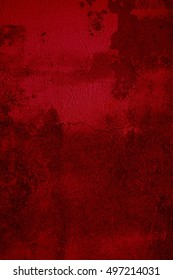 Grungy red background with scratches