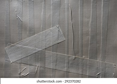 Grungy silver duct tape background