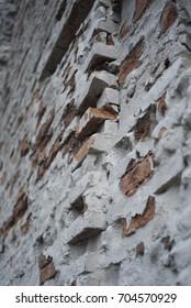 Grungy Urban Brick Wall Surface Texture