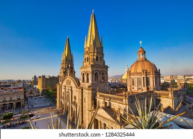 Guadalajara Central Cathedral (Cathedral of the Assumption of Our Lady), in Jalisco, Mexico