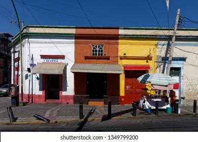 Guadalajara, Jalisco/Mexico - 05/02/2017: Streets of Guadalajara, a beautiful city in Jalisco, Mexico.