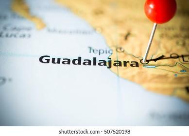 Guadalajara Mapa Images Stock Photos Vectors Shutterstock