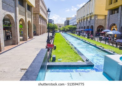 GUADALAJARA , MEXICO - AUG 29 : View of Guadalajara Mexico historic center on August 29 2016. Guadalajara is the capital and largest city of the Mexican state of Jalisco