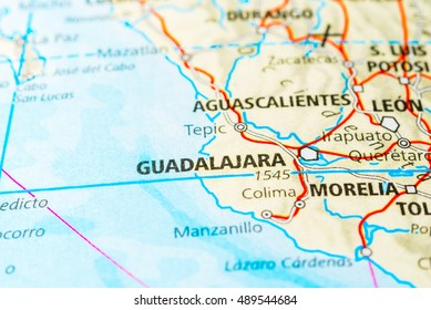 Mapa Guadalajara Stock Photos Images Photography Shutterstock
