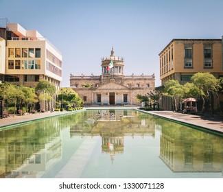 Guadalajara, Mexico - Oct 30, 2016: Hospicio Cabanas (Cabanas Cultural Institute) - Guadalajara, Jalisco, Mexico