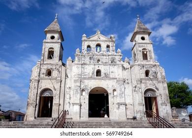 Guadalupe Church at Granada, Nicaragua