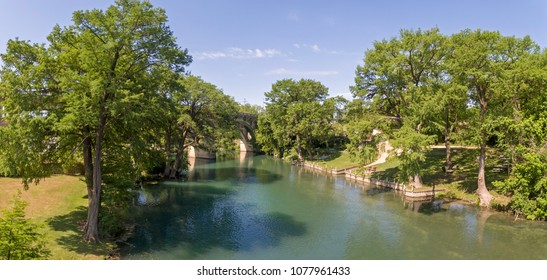Guadalupe River in New Braunfels, Texas