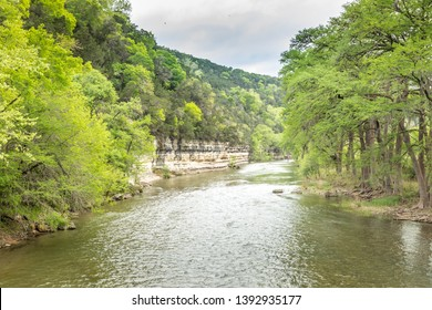 Guadelupe River at New Braunfels, Texas