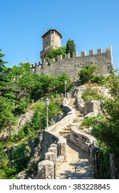 Guaita, the oldest of the three towers in San Marino