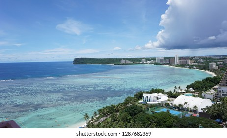 Guam beach sky