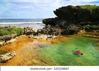 Guam, Northern Mariana Islands - Inarajan Natural Pool