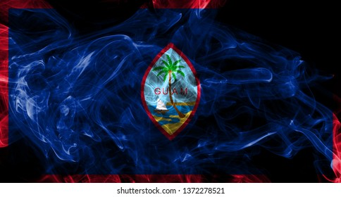 Guam smoke flag, United States dependent territory flag